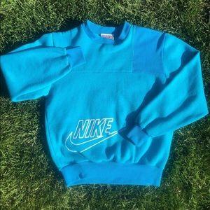 90s Nike colour block crew neck
